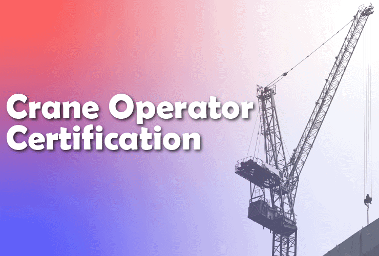 crane operator training certification