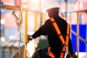 safety gear fall protection OSHA requirements