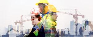 construction engineer crane inspection workers